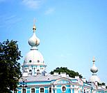 Domes of the Smolny Convent.