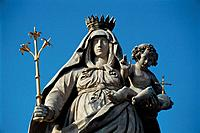 Statue of Maria in Alttting, Germany