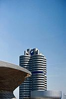 BMW Welt, Olympic Park, Munich, Upper Bavaria, Bavaria, Germany