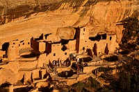 Cliff Palace at Mesa Verde National Park, Colorado, USA, North America, America