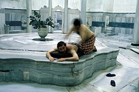 Cagaloglu Hamam, turkish bath, Istanbul, Turkey