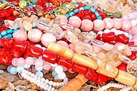 Variety of beads