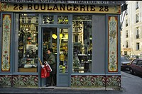 Boulangerie, bakers shop in Paris, France