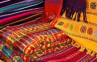 Colorful Mayan Fabrics