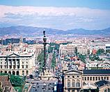 City view of Barcelona