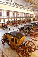 National Coach Museum in Lisbon &#8211; Museu Nacional dos Coches &#8211; in Belem, Lisbon, Portugal