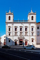Hospital de Jesus Cristo Church  17th century Portuguese Mannerist architecture, called Chão  City of Santarém, Portugal