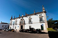 City-Hall of Santar&#233;m in the former Eugenio Silva Palace, a 17th century Manor-House &#8220;Solar&#8221; in Portuguese  Portugal