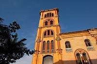 Tower of Cartagena public University 1827 , Cartagena de Indias, Bolivar Department,, Colombia, South America