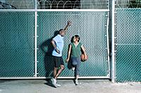 Couple with Basketball