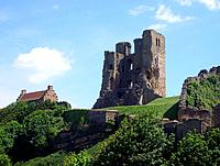 Scarborough Castle view