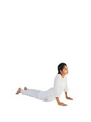 Girl practicing asana MR779J