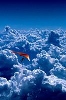 Hang_Gliding Above the Clouds