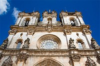 Alcobaça Monastery, a masterpiece of the Gothic architecture  Cistercian Religious Order  Unesco World Heritage  Portugal