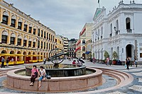 Largo do Senado,Macau,China