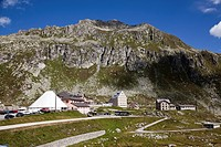 Switzerland, Saint Gotthard Pass between Uri and Ticino