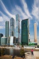 Rusia, Moscow City , New ´Moscow City´ Skyline.
