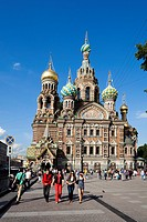 Rusia , San Petersburg City, Church of the Savior on Spilled Blood