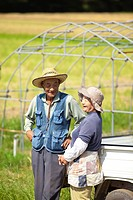 Senior Farmer Couple in Field