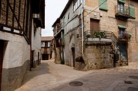 Sequeros, typical village of the Sierra de Francia, Salamanca. Castilla y Leon. Spain. Europe
