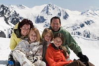 Family vacation, Whistler, British Columbia, Canada.