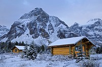 Mount Assiniboine Lodge, Mount Assiniboine Provincial Park, Rocky Mountains, British Columbia, Canada