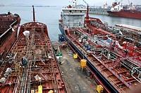Shipyard at Tuzla, Turkey, West Anatolia, Istanbul