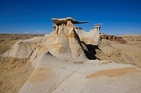 ´Wings of Stone´, sand stone sculptures in the Bisti Badlands, USA, New Mexico, Bisti Wilderness