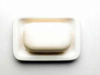 Bar of Soap in Dish