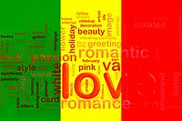 Flag of Mali love