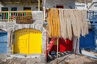 klima village, milos island, cyclades islands, greece, europe