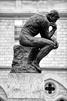 'The thinker'  Rodin museum  Paris, France