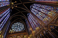 Sainte Chapelle church  Paris, France