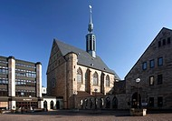 Propsteikirche, Germany, North Rhine_Westphalia, Ruhr Area, Dortmund