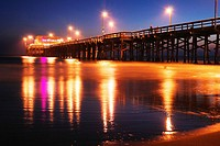 Newport Beach Pier, Sunset