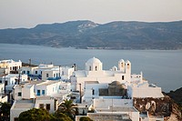 plaka village, milos island, cyclades islands, greece, europe