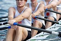 Rowing Team Practicing