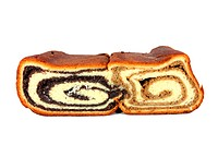 Two variants of nut roll