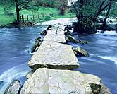 Tarr Steps Clapper Bridge