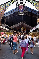 Market of La Boqueria, Barcelona, Spain