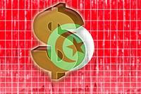 Flag of Tunisia finance economy