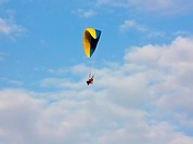 paraglider with a motor
