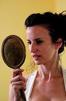gazing into mirror II
