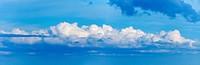 Long cloud in sky _ panoramic photo