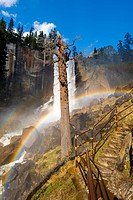 The Mist Trail and Vernal Fall