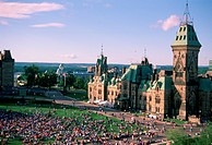 B.Rondel, Aerial View, Canada Day Celebrations, Ottawa, ON