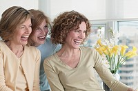 Three Women Laughing