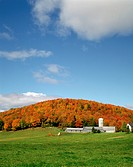 Farm in Autumn, Ste_Beatrix, Quebec