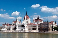 geography / travel, Hungary, Budapest, Houses of Parliament, Danube River,