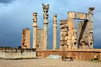 Palace of Akhemenid kings 510-450 BC, UNESCO World Heritage Site, Persepolis, province Fars, Iran